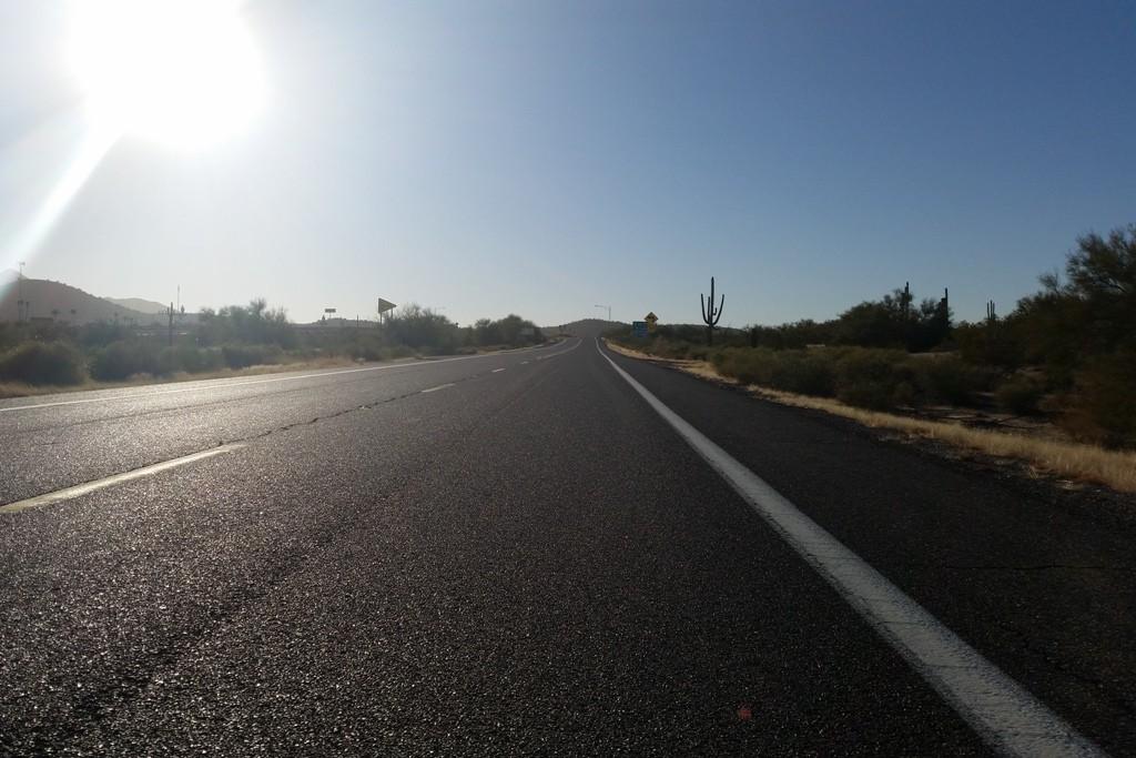 Die I 8 in Richtung Westen, Yuma ist unser Ziel!