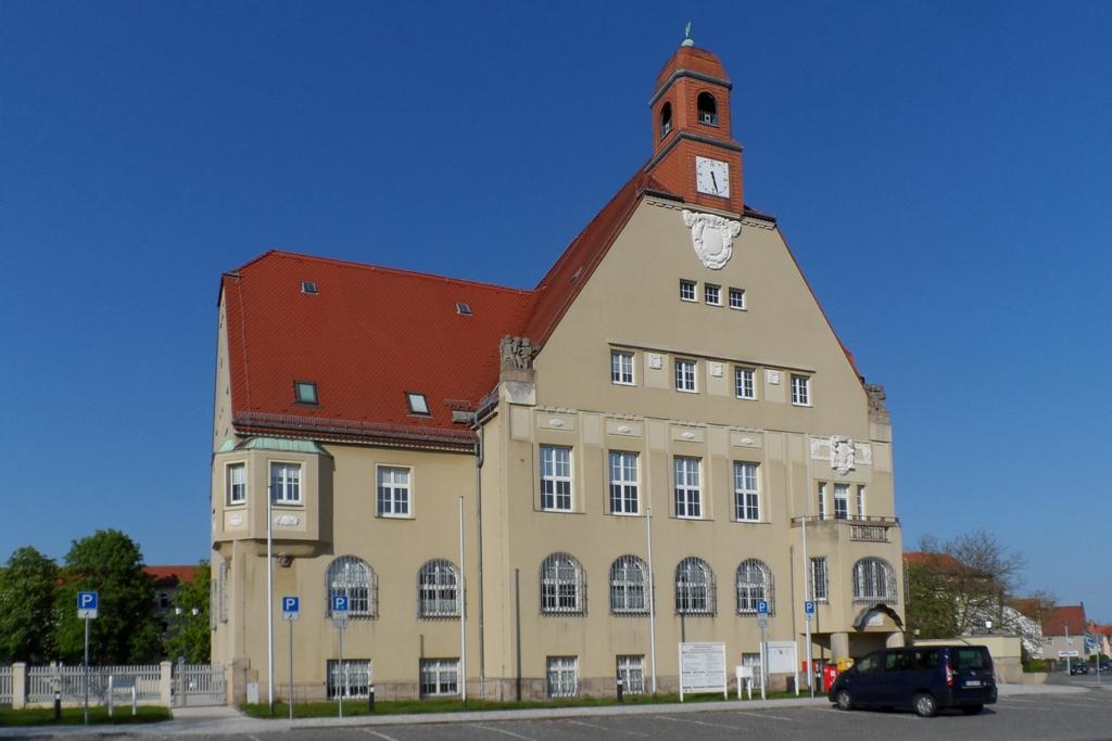 Das Rathaus von Heidenau