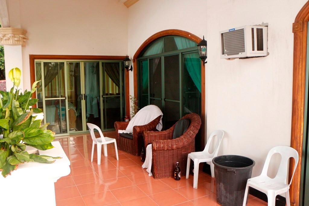Die Loggia in der ersten Etage, ein wunderschöner Ort zum Relaxen.
