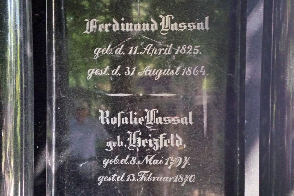 Grabstätte des wohl bekanntesten Jüdischen Bürgers der Stadt Breslau