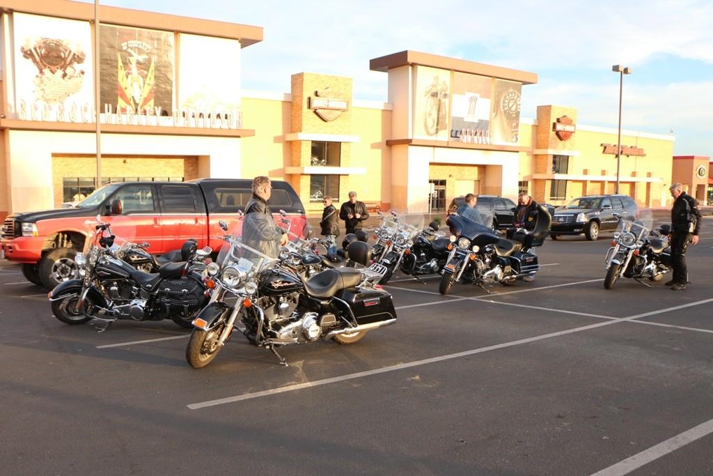 An der Red Rock Harley Niederlassung in Las Vegas!