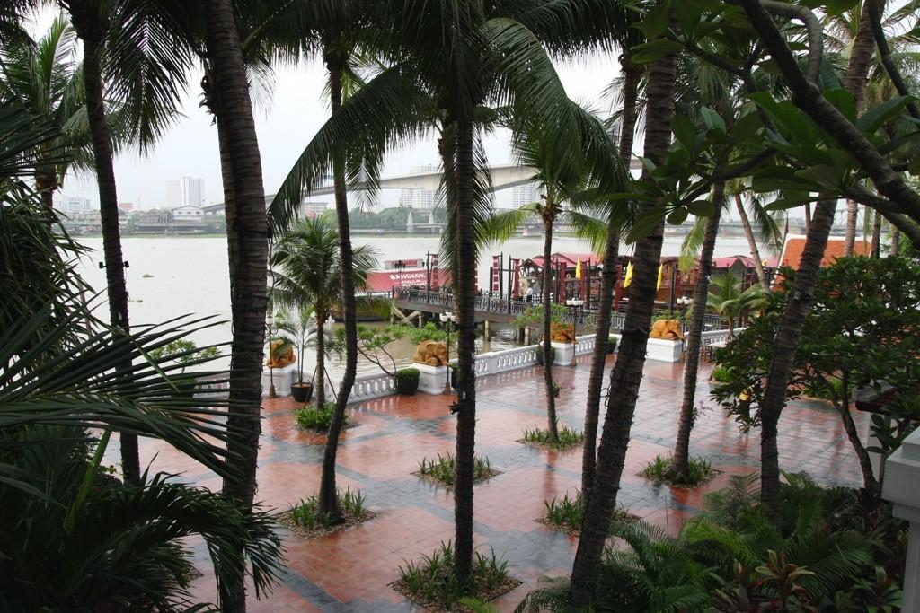 Teilansicht der Hotelanlage - traumhaftes Ambiente
