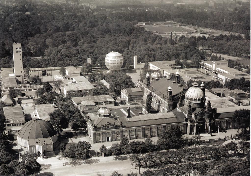 Dresden - Ausstellungsgelände am Großen Garten (Stübelplatz)