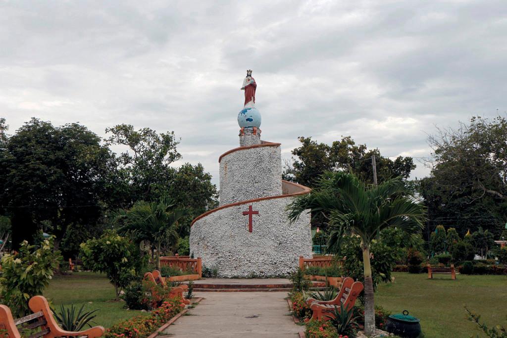 Das Monument des St. Vincent!