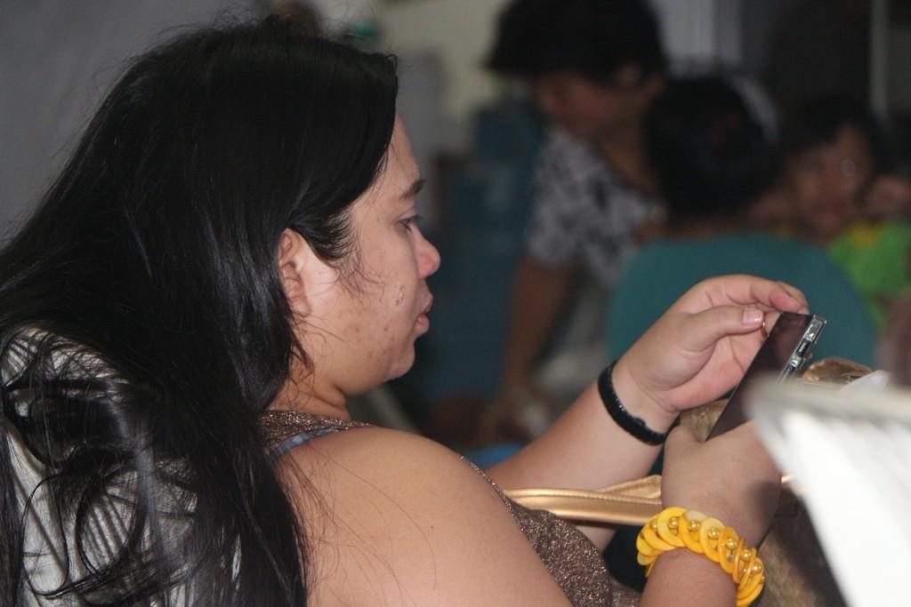 Derweil mache ich erneut die Feststellung, ohne Handy geht bei den Filipinos garnichts!