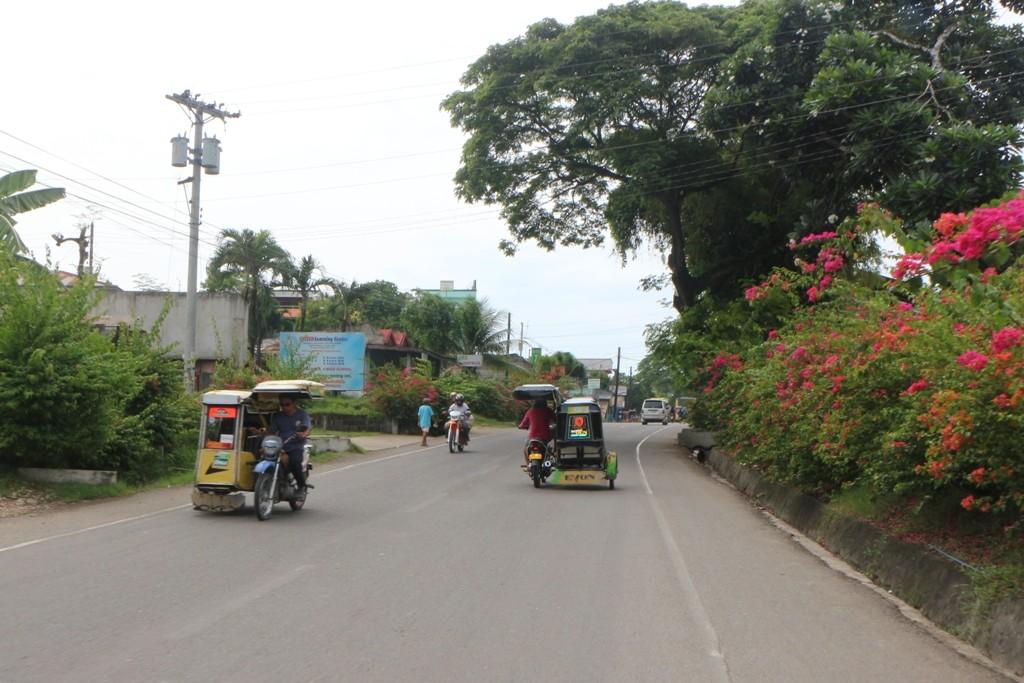 Verkehrsimpressionen auf der Cebu South Rd
