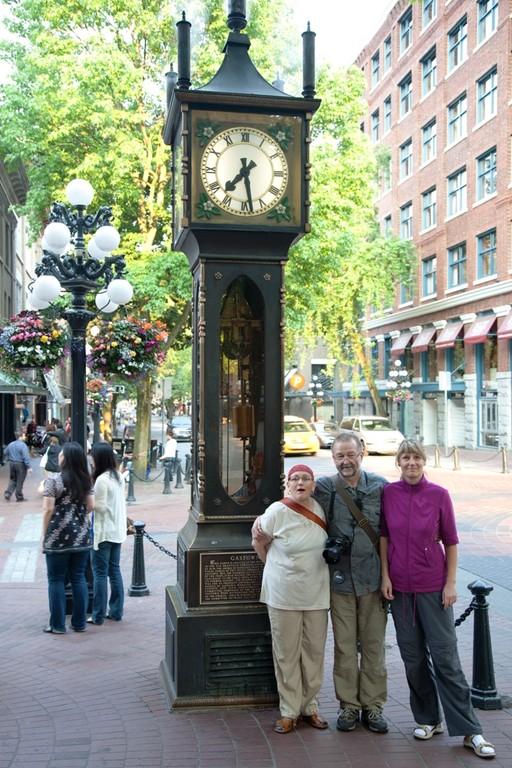 Die Dampfuhr in Gastown vo Vancouver