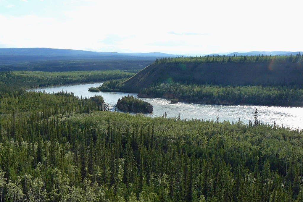 Five Finger Rapids im Yukon River