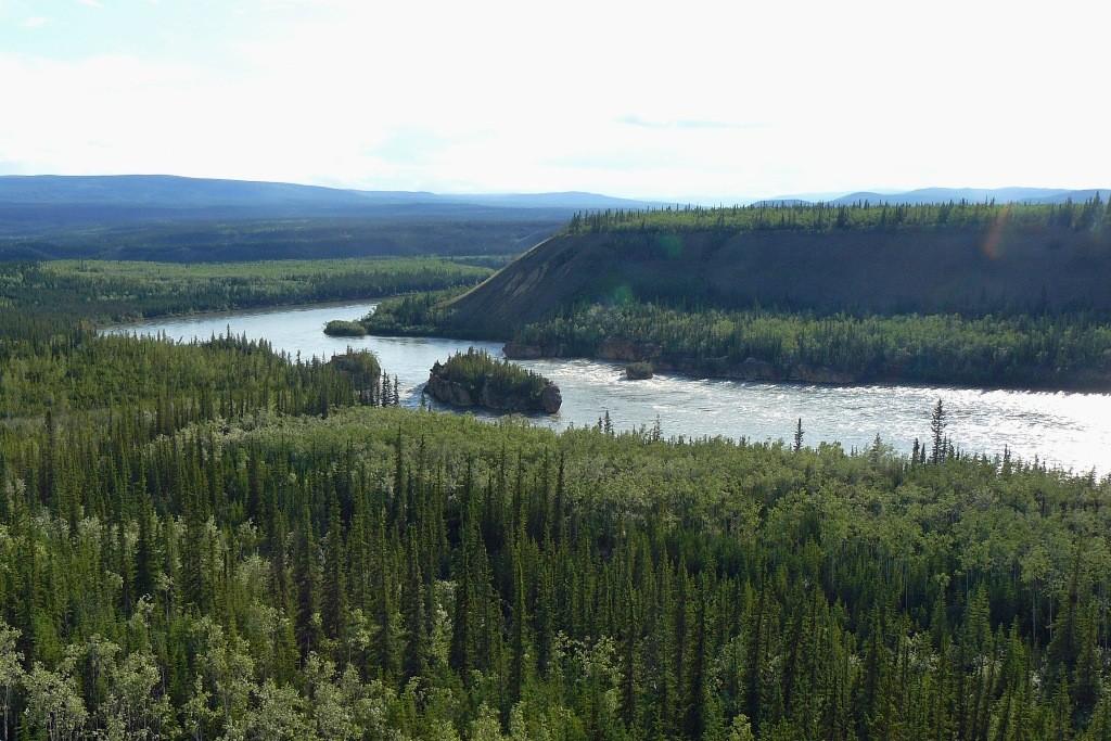 Five Finger Rapids im Yukon River