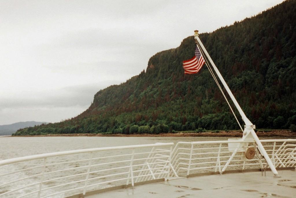 """Mit der """"Malaspina"""" (Alaska Marine HWY) von Prince Rupert nach Ketchikan"""