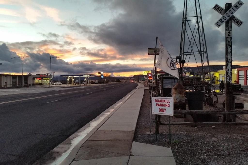 ...die Route 66 in Blickrichtung West!