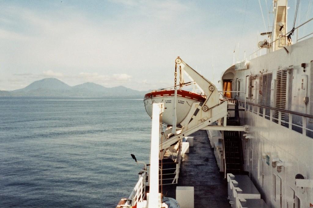 ...Überfahrt (Salish Sea) nach Nanaimo (Vancuover Island)
