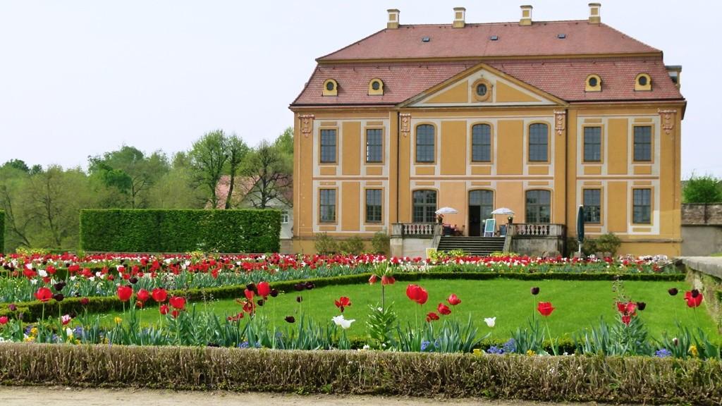 Das Friedrichschlösschen Im Barockgarten, auch mit Gastronomie