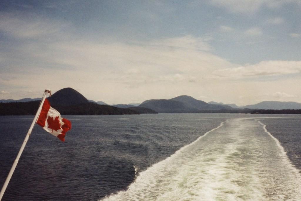 ...mit den BC Ferries in Richtung Prince Rupert
