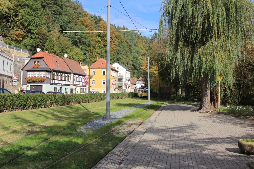...am Stadtpark in Bad Schandau