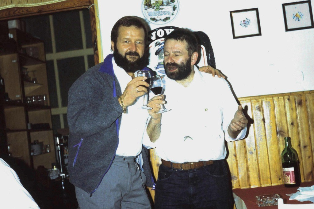 Stiftungsfest 1995 mit Frank