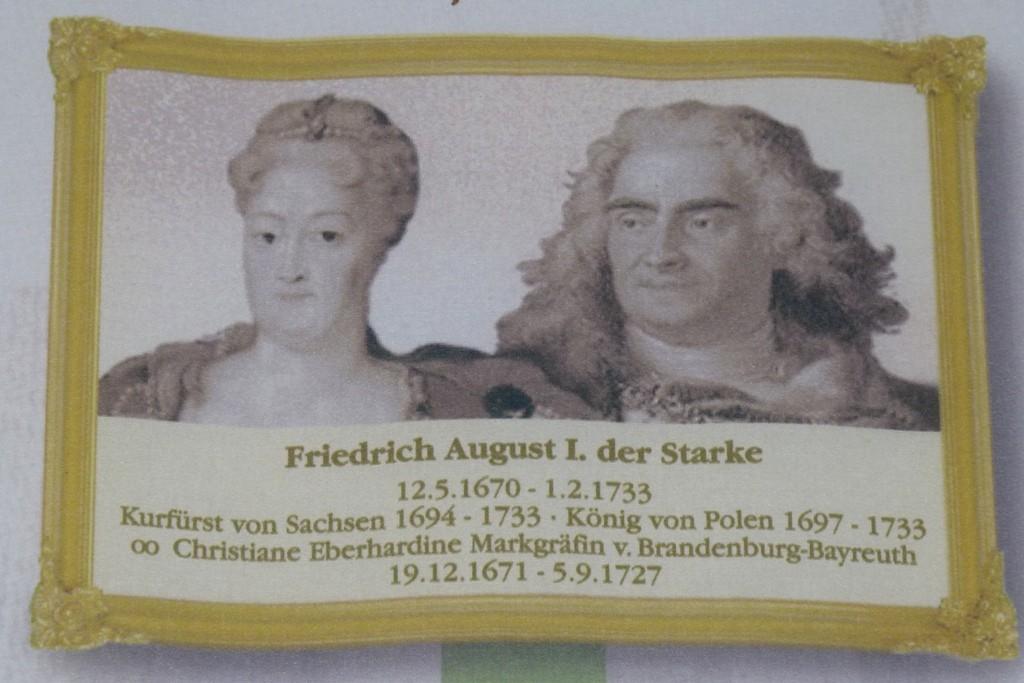 Friedrich August I, der Starke, die von Bünau´s waren fest im kurfürstlichen Hof Involviert
