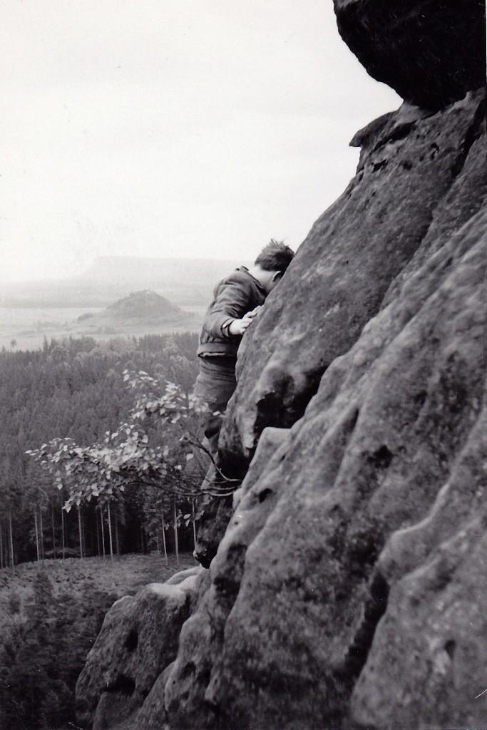 Lehnsteigtürme, Böser Turm, Alter Weg, Pfingsten 1961
