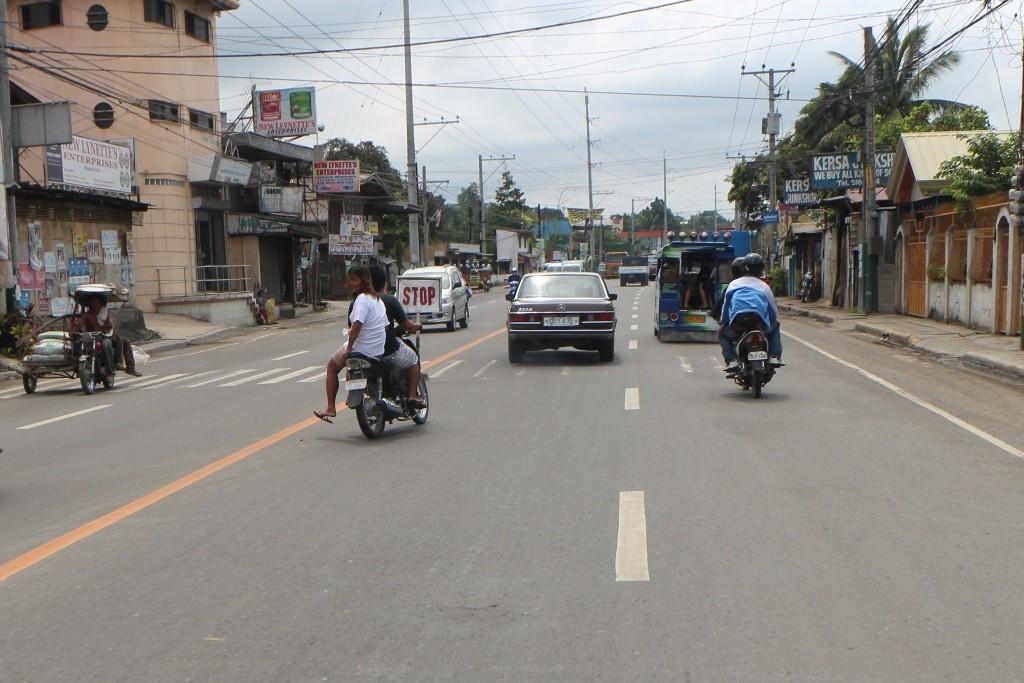Wir fahren durch Dalaguete