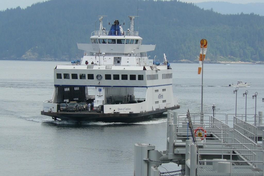 Vancouver West, Horseshoe Bay, hier setzen wir nach Vancouver Island über