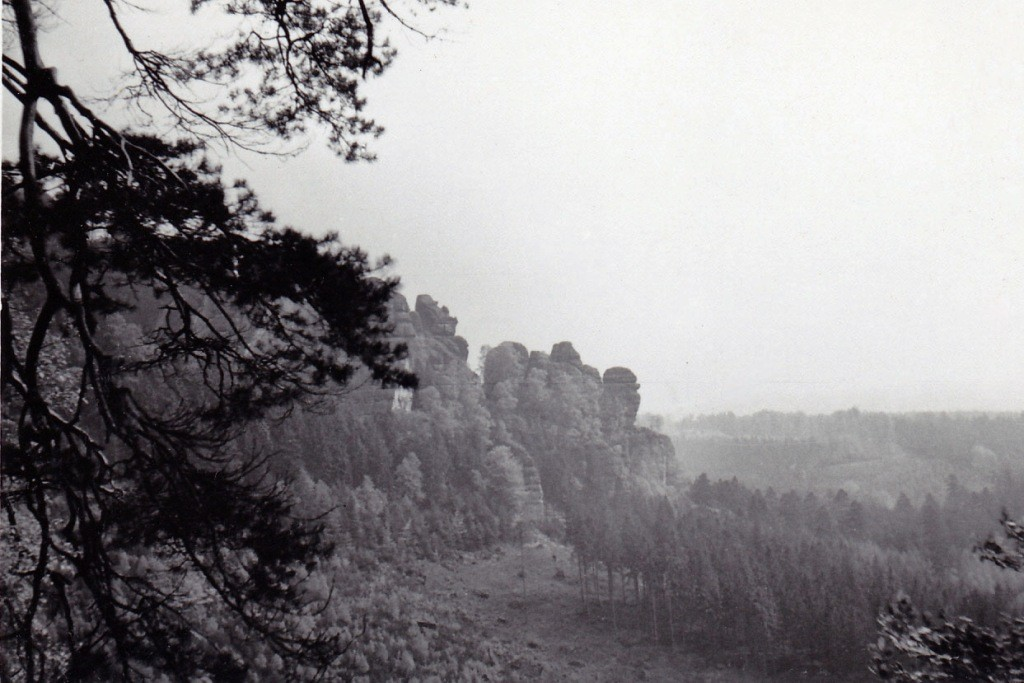 Die Lehnsteigtürme/Schmilkaer Gebiet - hier fing zu Pfingsten 1961 alles richtig an