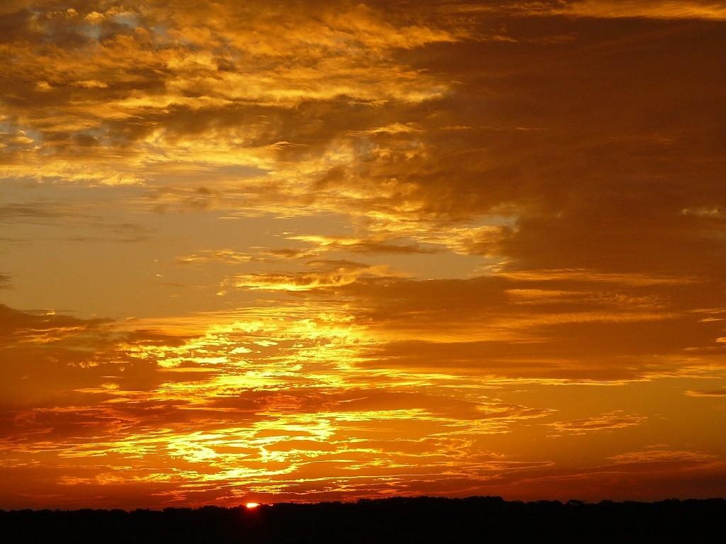 Herrlicher Sunset in der Pilbara