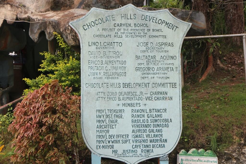 Wir sind im Gebiet um Carmen bei den Chocolate Hills angekommen