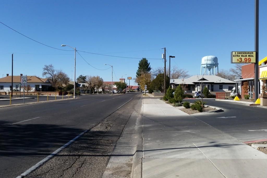 Abfahrt von Las Cruces in Richtung I 8 W nach Yuma (Arizona)