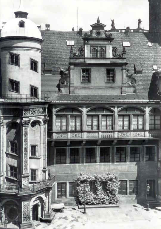 Dresden - Königl. Residenzschloss, Großer Hof