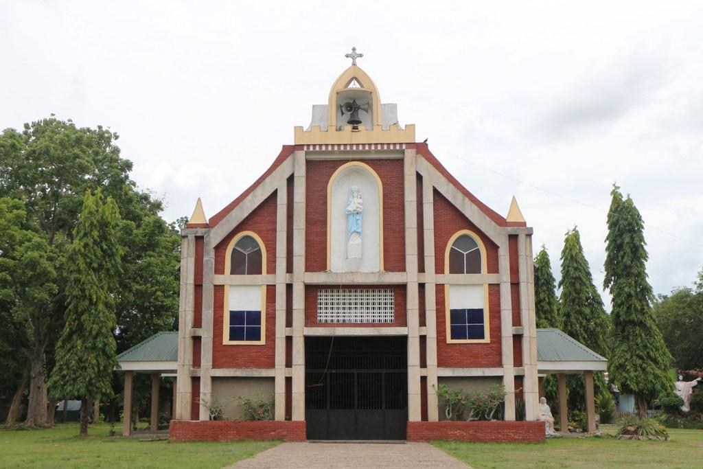 Die  Nuestra Sra. Del Pilar Church von Pamplona