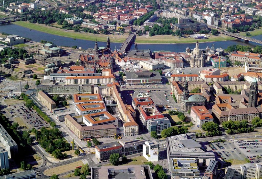 Dresden - Innenstadt dieser Tage