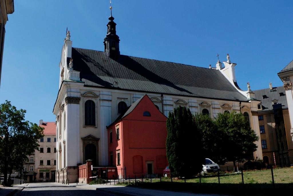 Die Kirche des Heilige Namen Jesus (Kościół Najświętszego Imienia Jezus)