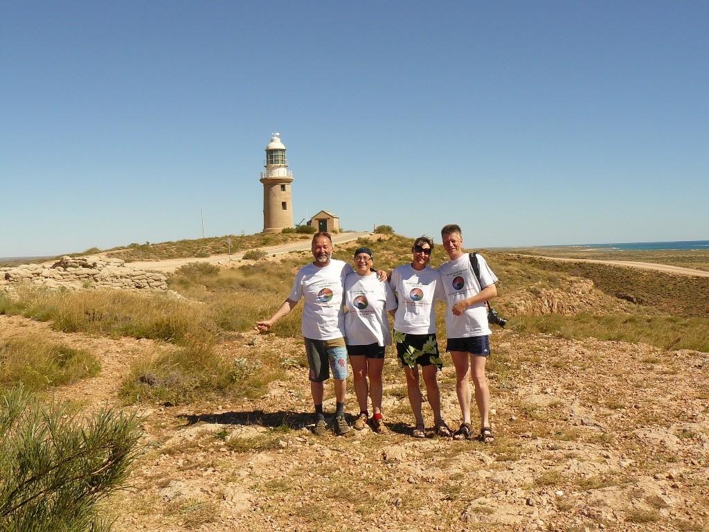 Zuletzt über die Minilay Exmouth Rd zum Nordwestlichsten Punkt Australiens, zum Exmouth Lighthouse