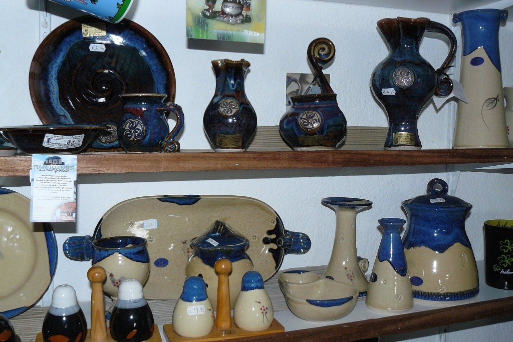 Wunderschöne Töpferwaren in Adrigole