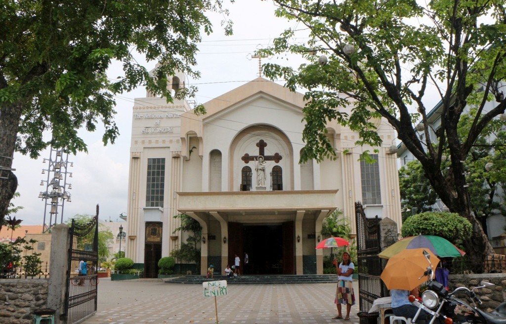 Die Saint Joseph Parish im Zentrum, Mandaue City