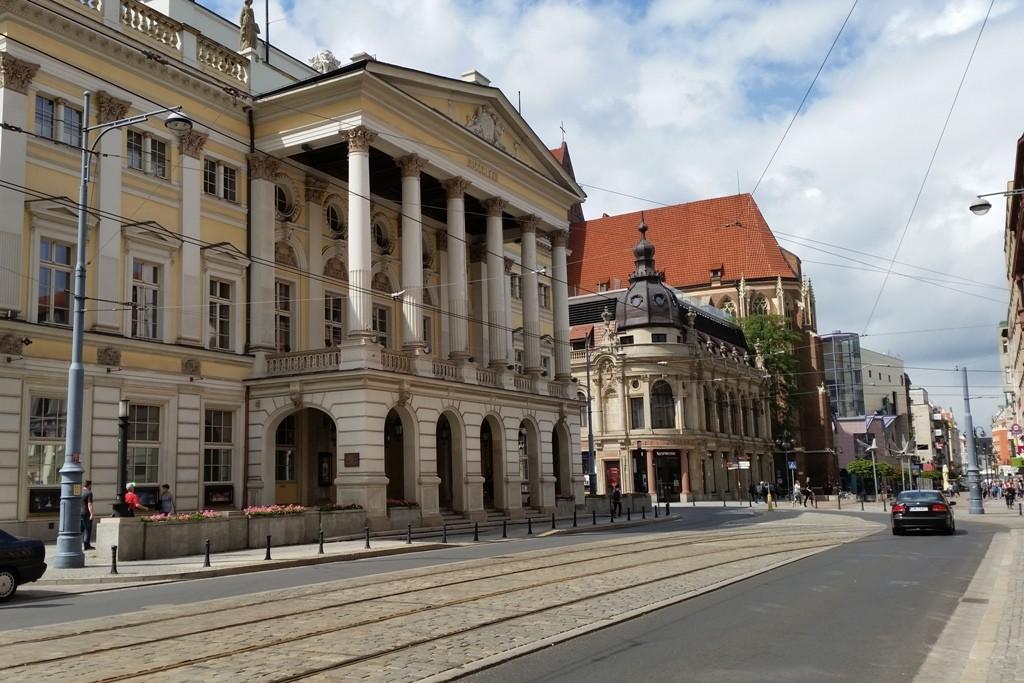 Opera Wrocławska, das Wroclawer Opernhaus