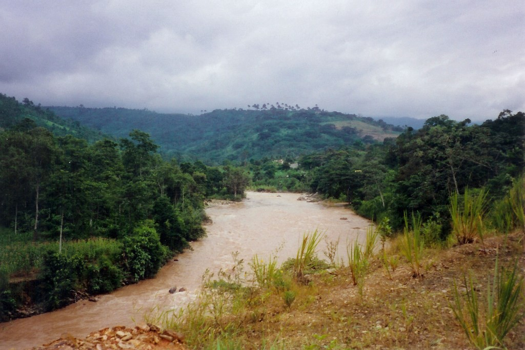 Der Rio Jubones