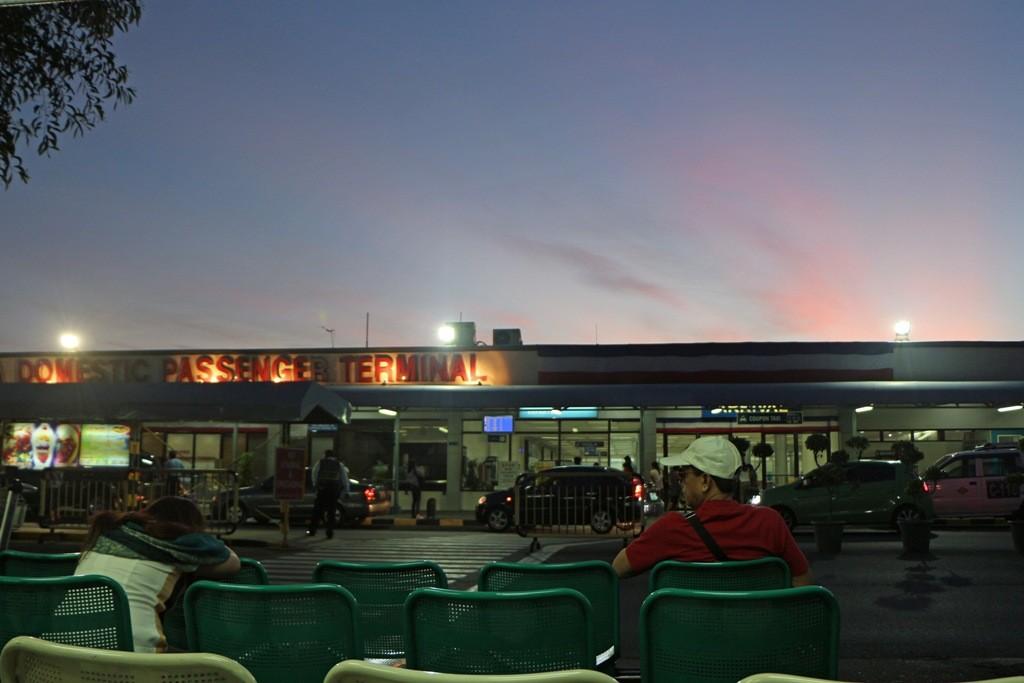 Kurz vor 6:00 Uhr, nun dauert es nicht mehr lange bis zum Weiterflug nach Tagbilaran