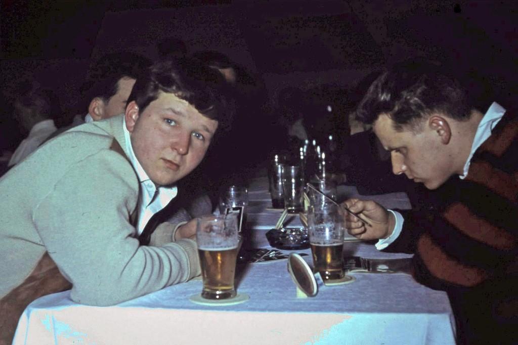 Festlicher Teil beim Stiftungsfest 1965