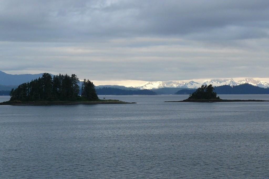 Es wird bitter kalt, hier am frühen Morgen kurz vor Kake, nahe Juneau