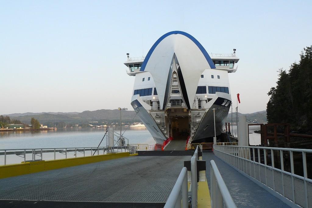 Start in Port Hardy (BC Ferries) an der Nordspitze von Vancouver Island in die kanadische Inside Passage
