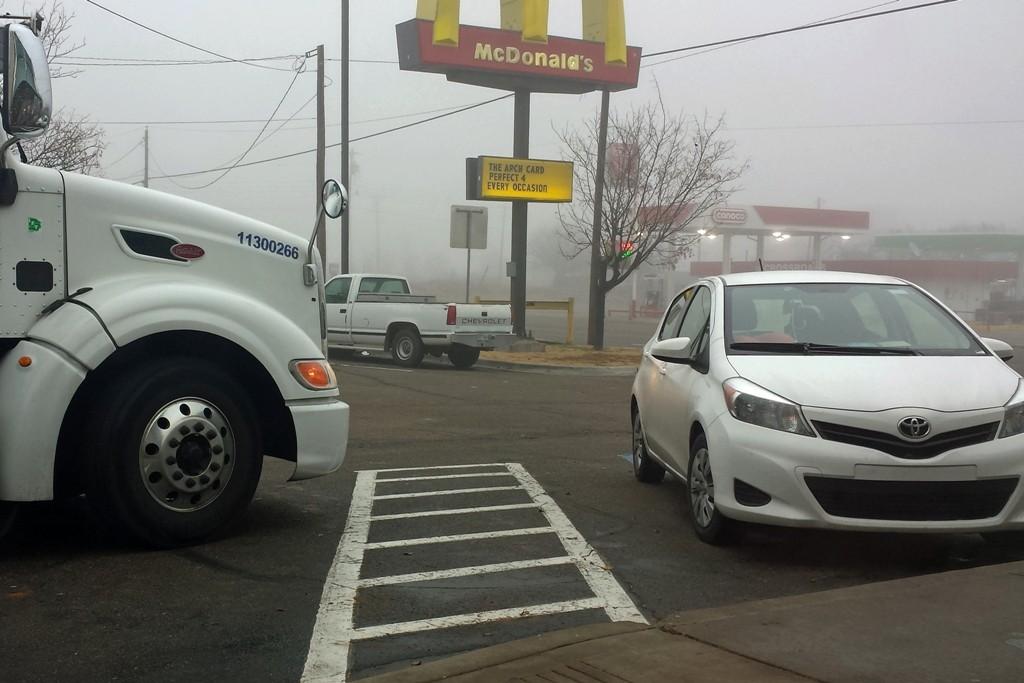Der Nebel will sich einfach nicht auflösen