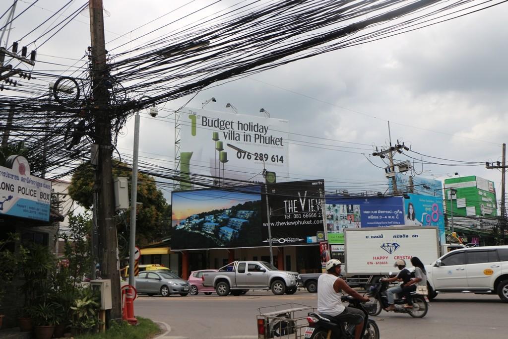 Große Kreuzung in Chalong