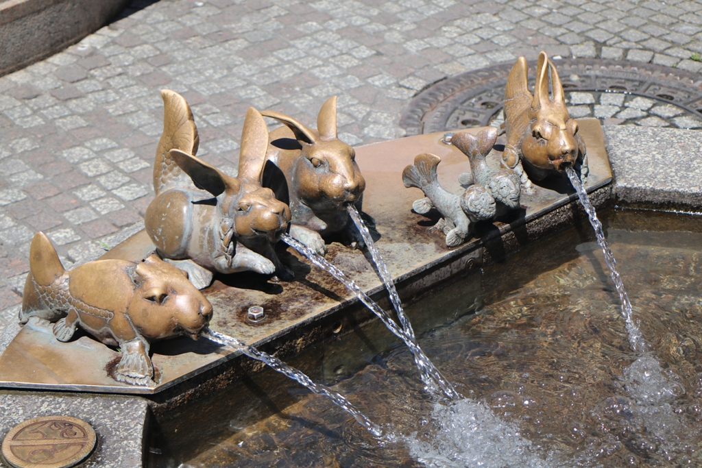 Die Seehas Familie am Kaiserbrunnen