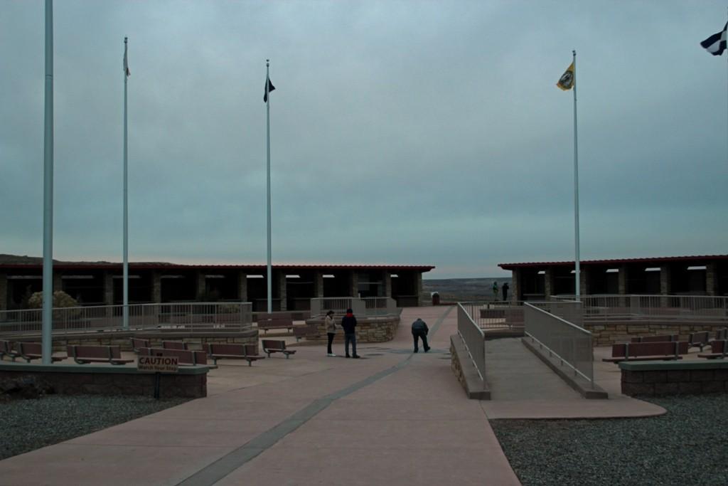 Zwischenziel erreicht, das Four Corner Monument