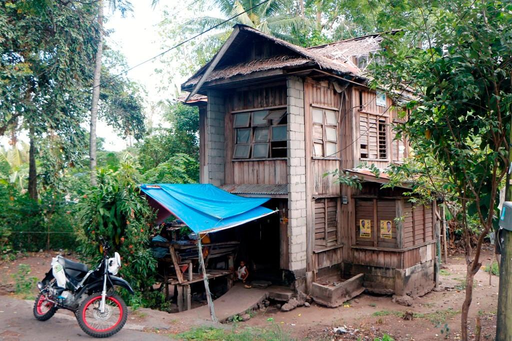 Dieses ältere und einst gute Haus hatte schon mal bessere Zeiten erlebt.