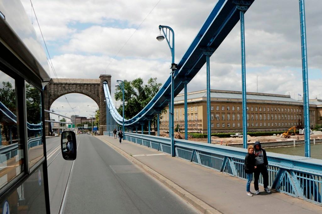 Die Grunwald Brücke