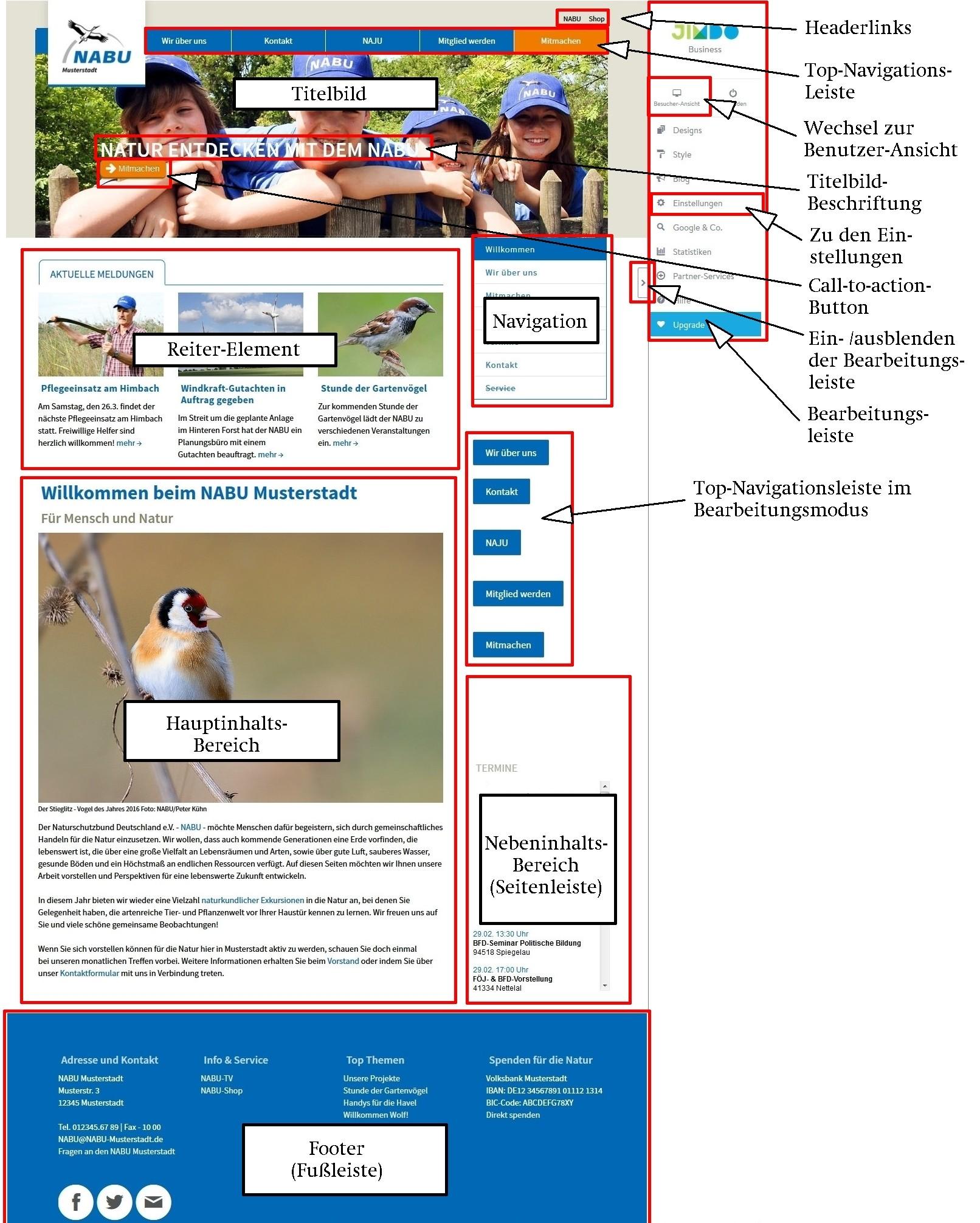 Ihre neue NABU-Webbaukasten-Seite - nabu-barsinghausens Webseite!