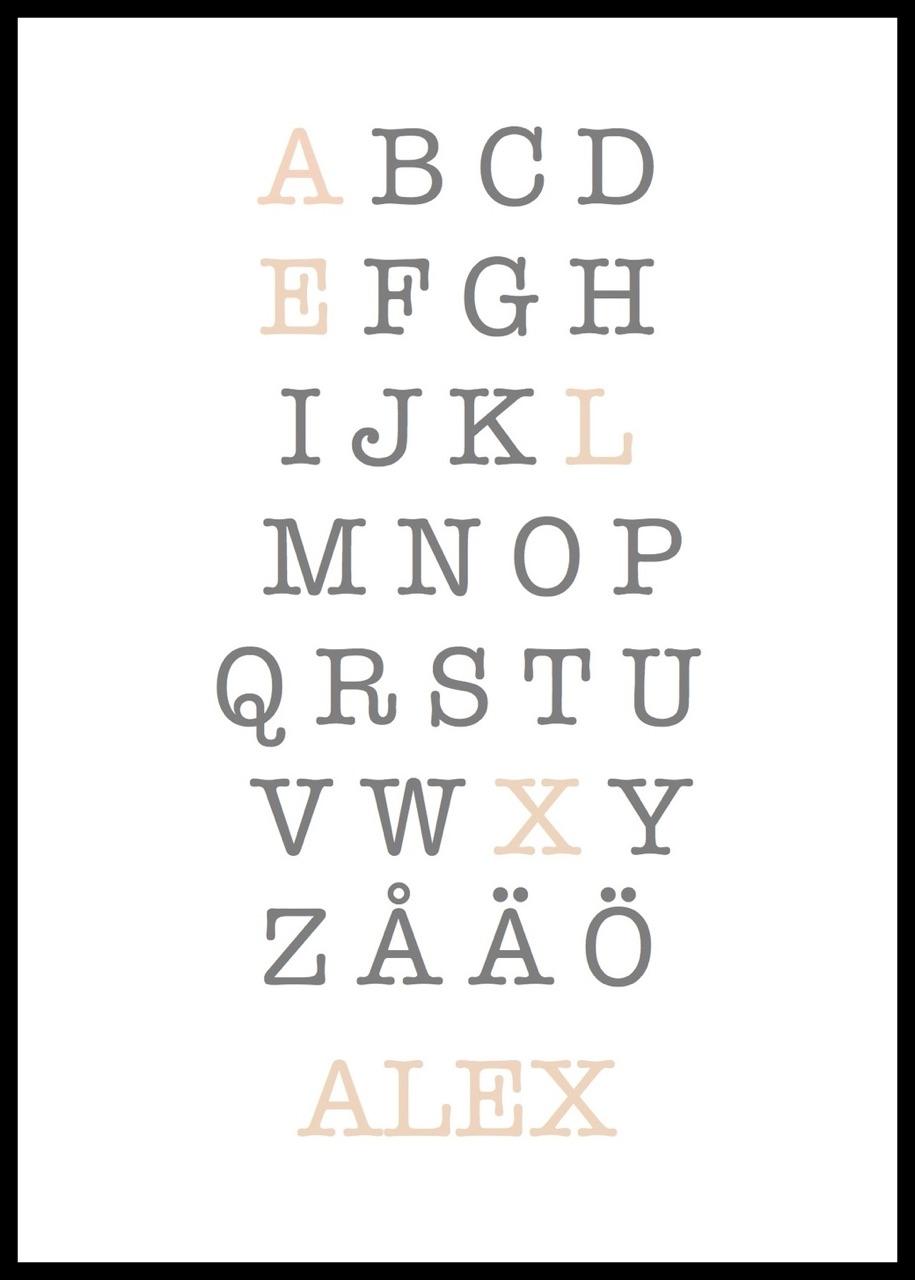 Alfabetet dating j