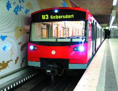 U-Bahn Linie 3 bis Gebersdorf
